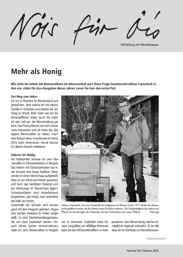 Nöis für Öis Ausgabe 96