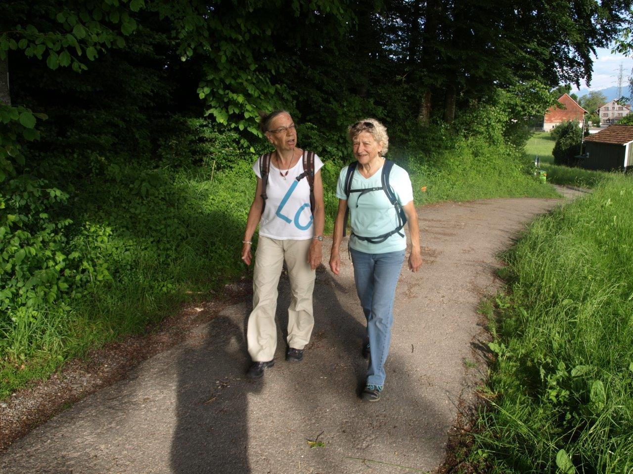 Dorfverein Wernetshausen gewinnt den Hinwiler Marsch!