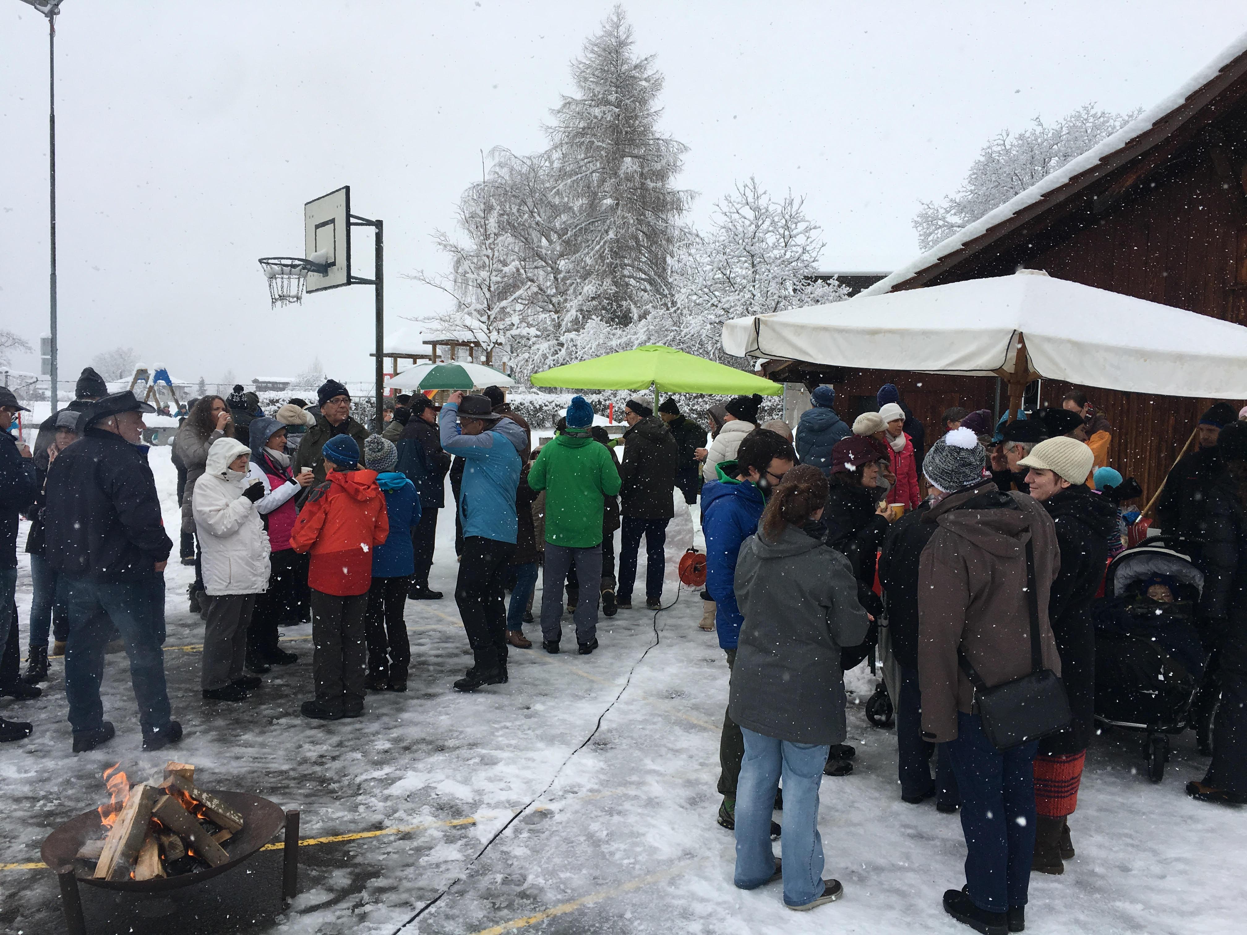 Neujahrsapéro in Wernetshausen
